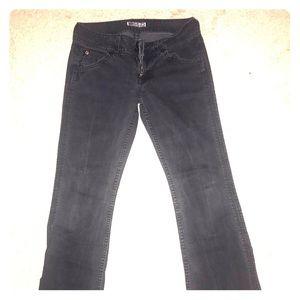Hudson Sz 28 Black Boot cut Jeans